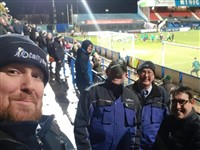 The Blue Army took the Green Army to Macclesfield