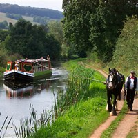 Tiverton Horse Drawn Barge - £35 inc