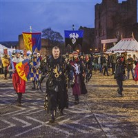 Ludlow Medieval Fayre in the Castle...from £285pp